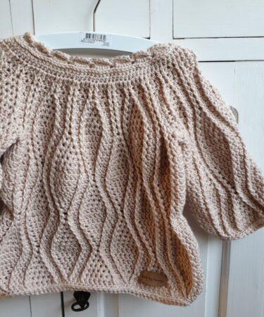 Gehaakt peuter trui